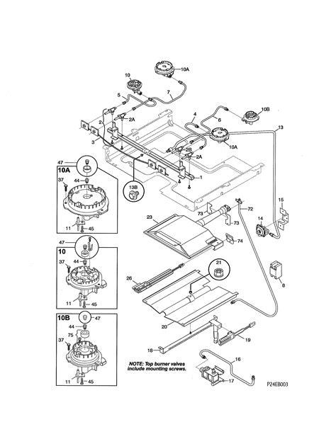 stove parts diagram kenmore 79075903993 gas range timer stove clocks and