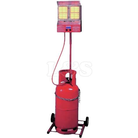 Propane Heat Ls by Propane Trolley Heater Complete With Gas Hose 37