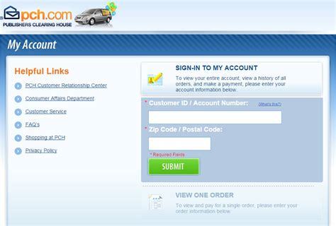 Pch Payment Online - pay myaccount pch com archives welcome to online bill pay com
