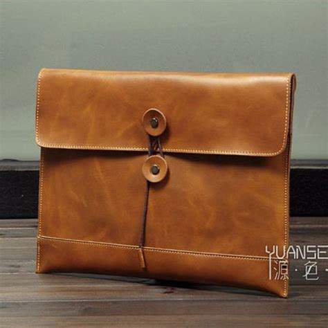 Handmade Leather Clutch Purse - business s handmade vintage 100 genuine leather