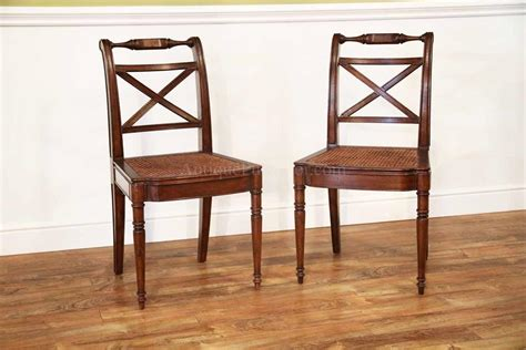 solid walnut antique reproduction seat dining chair