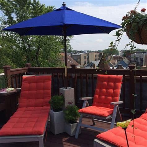 Patio Umbrella Keeps Falling Home Dzine Garden Ideas Practical Uses For Blocks