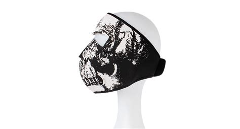 pattern white bandit mask price 4 05 skull pattern outdoor neoprene face mask black