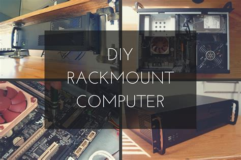 Building A Rack Mount how to build a rackmount pc for editing