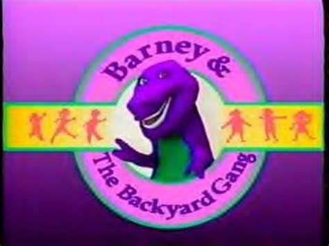 barney and the backyard gang theme song barney and the backyard gang soundeffects wiki fandom