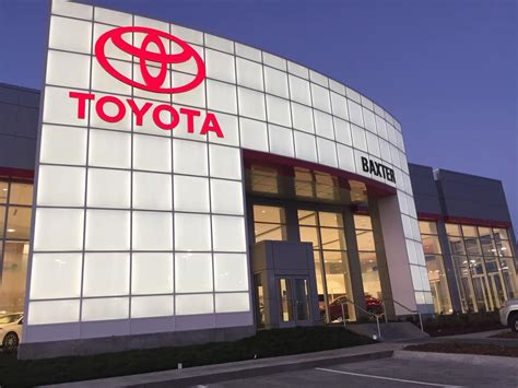 toyota store baxter toyota lincoln toyota dealer in lincoln ne