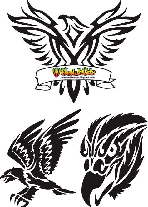 format gambar eps gambar unduh cdr gratis download tatto elang vector file