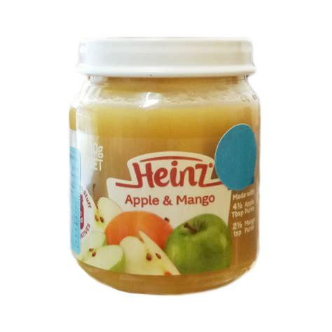 Makanan Bubur Bayi Heinz jual murah heinz apple mango 110gr 4m makanan