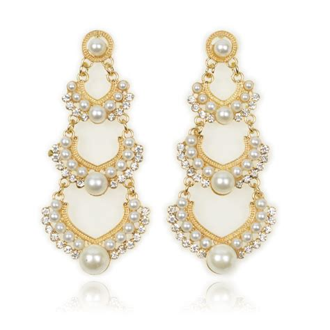 Best Earrings by Pearl Earrings With Pearl Jewelry The With The