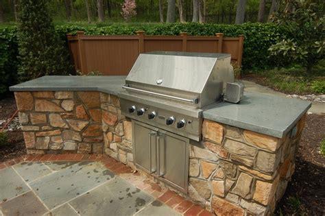 Outdoor Kitchen Concrete Countertop by 9 Exles Of Concrete Countertops Done Right Designcast