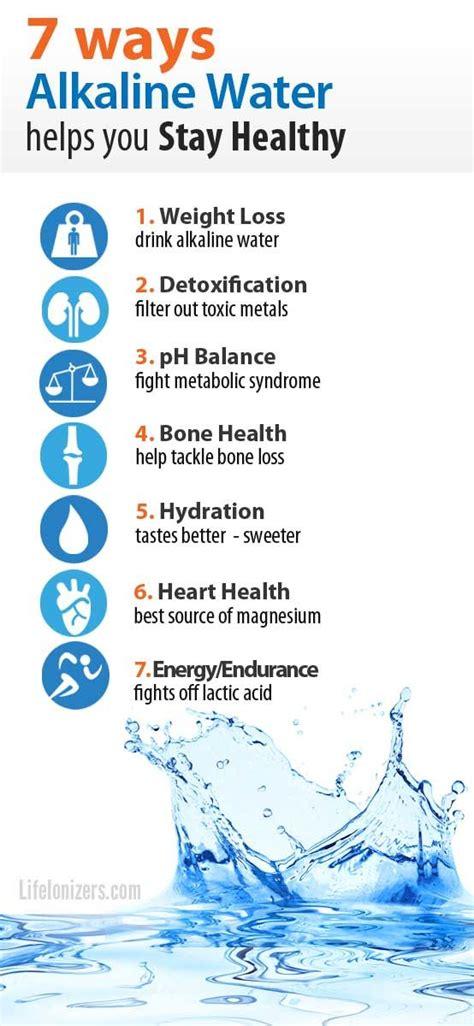 Does Alkaline Water Help Detox by Best 25 Alkaline Water Ideas On