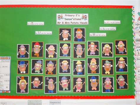 new year display ks1 mr potato display classroom displays class display