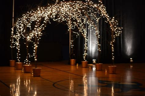 lighted twigs home decorating decorating potted lighted branches for indoor or outdoor wedding accessories ideas