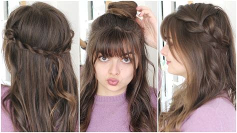Five Minute Hairstyles by Three Five Minute Hairstyles Back To School