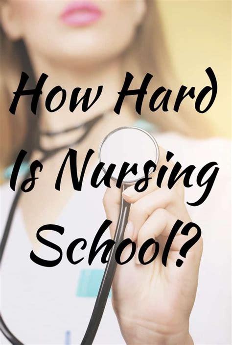 nursing school how how is nursing school look at the facts