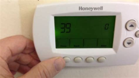 resetting wifi on honeywell thermostat reconnect your honeywell wi fi thermostat youtube