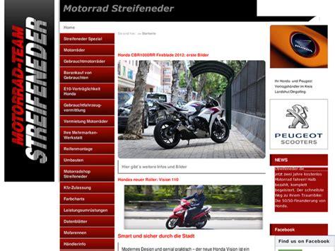 Motorradverleih Bremen by Motorrad Streifeneder In Essenbach Motorradh 228 Ndler