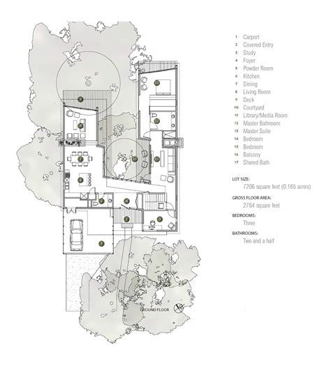 tree house floor plans gallery of tree house matt fajkus architecture 22