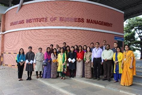 Mba Through Infosys by Mba Students From Royal Of Bhutan Gaeddu