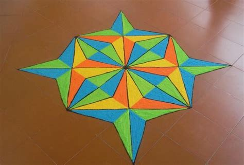 Rangoli Pattern Using Shapes | beautiful rangoli designs for the next big occasion