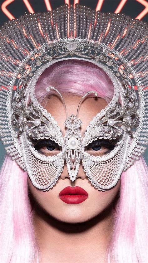 Detox Rupaul Futuristic Mask by 4363 Best Images About Drag Lover On