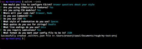Unix Quotes Tutorial | a brief tutorial on eslint void canvas
