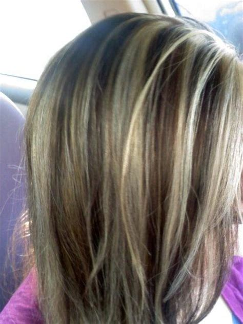 brown hair color with highlights ideas how to dye blonde and brown lowlights and very light hightlights long