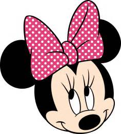 minnie mouse face pink imagui