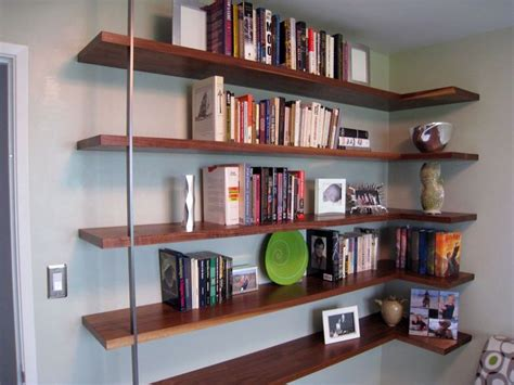 floating mid century modern wall shelves new mid century