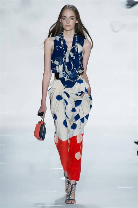 Diane Furstenberg Brings Influence To Nyc by Diane Furstenberg Brings Flirty Prints To 2013