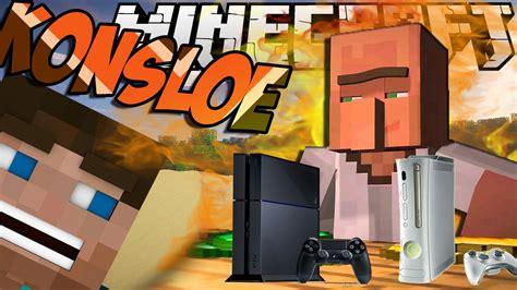 minecraft mod game console minecraft mody konsole ps4 xbox console mod youtube
