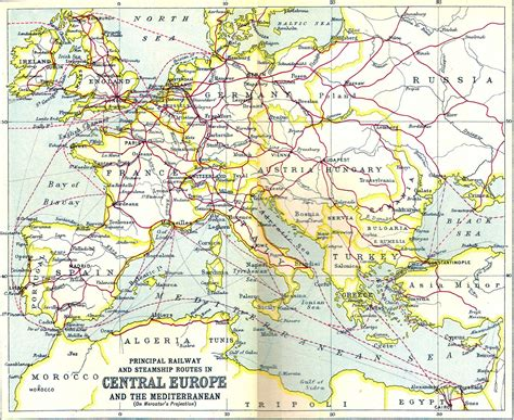 rail map of europe rom sig rail routes out of romania