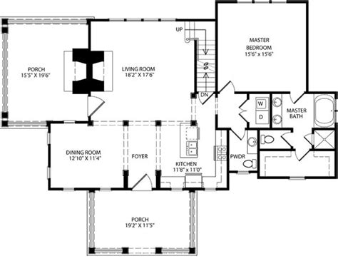 southern living floorplans floor plan southern living for the home