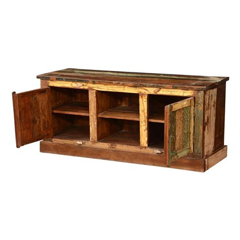 console pioner console pioneer pioneer rustic reclaimed wood tv console