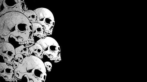black and white photo black and white skulls wallpaper wallpapersafari