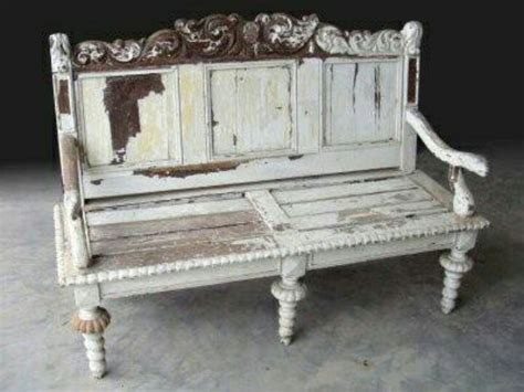 distressed benches distressed bench picks pinterest