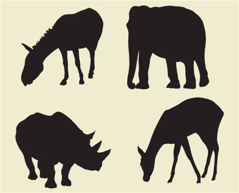 printable zoo animal silhouettes zoo animal stencils www pixshark com images galleries