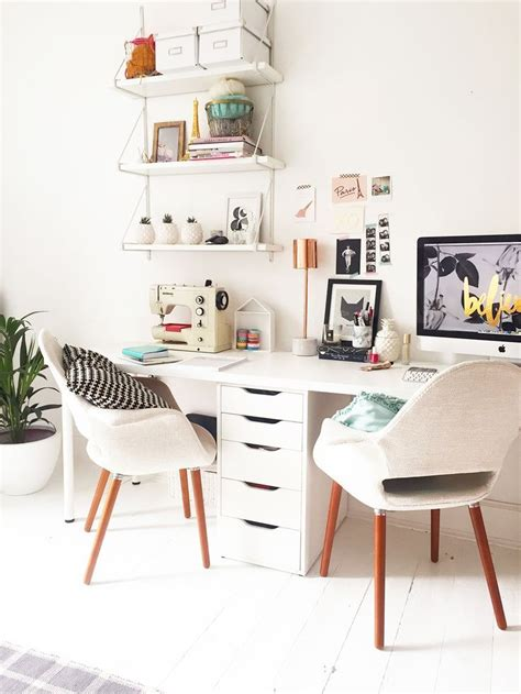 Two Desk Home Office by 25 Best Ideas About Two Person Desk On 2