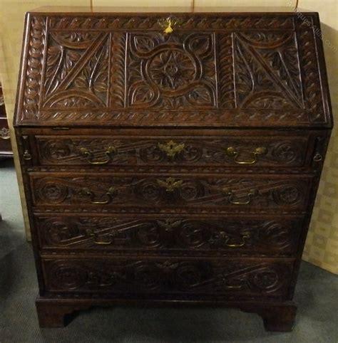 bureau vintage antique georgian oak bureau antiques atlas