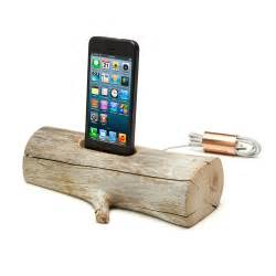 Iphone 5 Desk Stand Driftwood Iphone Charging Dock 171 For Men Gifts For Men Gifts