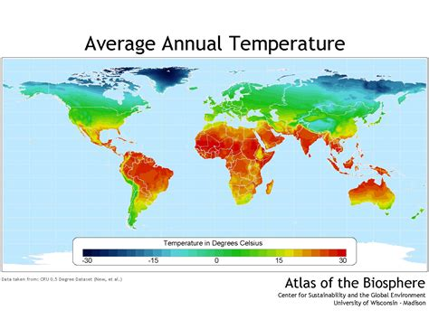 us average temperature map march center for sustainability and the global environment