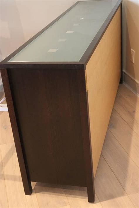 modern glass top and front display cabinet buffet bar for