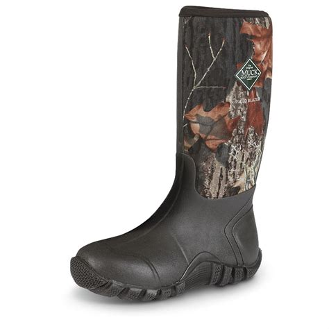 muck fieldblazer boots muck fieldblazer all terrain s sport boots mossy oak