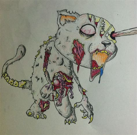cat zombie tattoo zombie cat tattoo by jacobaaron1 on deviantart