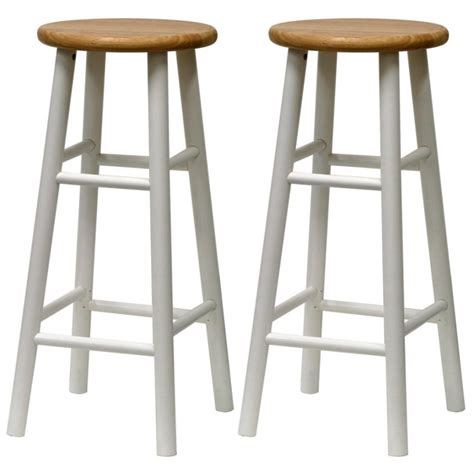 white bar stools white wood bar stools providing enjoyment in your kitchen