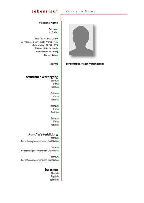 Lebenslauf Muster 2016 Word Datei by Vorlage Lebenslauf Word 2016 Lebenslauf Muster Und