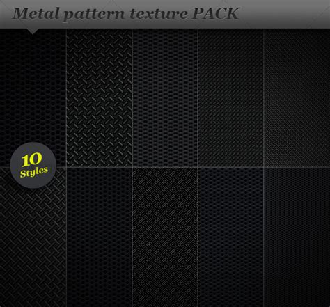 Metal Pattern Effect Background Texture | 20 cool metal textures