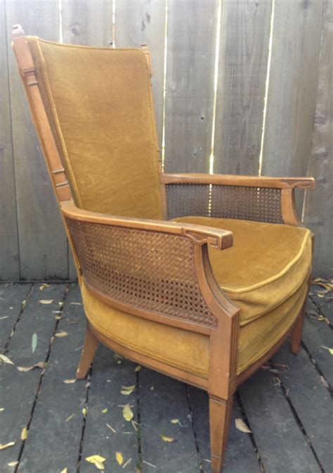 vintage mid century occasional chair  stateville chair