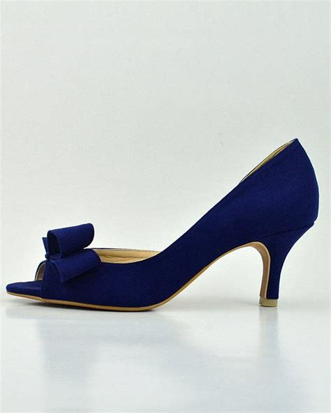 Wedding Shoes Navy by Something Blue Wedding Shoes Navy Blue Wedding Shoes