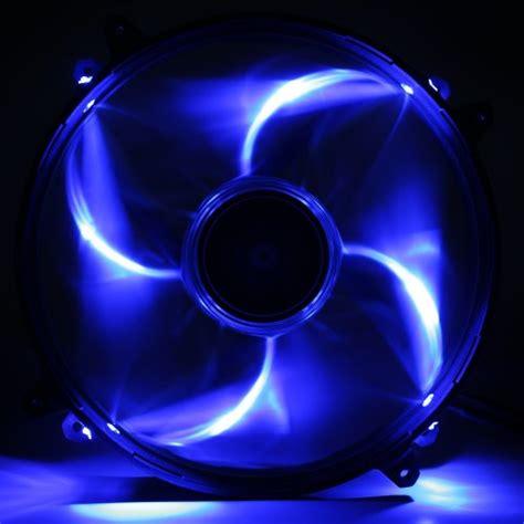 Nzxt Fs 200rb 20cm Fan Led Blue nzxt technologies fz 200mm blue led cooling fan with